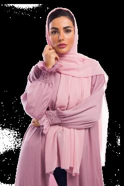 Dusty Pink Chiffon Scarf / Hjiab